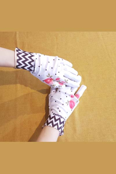 دستکش گل
